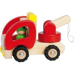 Bärgningsbil i  Trä - Goki - Paddington's Leksaker