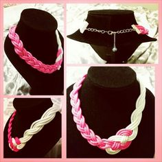 Celtic knot, paracord, braided necklace