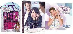"""Zur Free-TV-Premiere von """"TINI - Violettas Zukunft"""" im Disney Channel am 24.03.2017 um 20.15 Uhr verlosen wir ein tolles Fanpaket! Zum Teilnahmeformular:"""