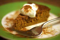 Easy Vegan Pumpkin Pie (Soy-free)  ~Detoxinista.com  Prep time: 5 mins Cook time: 45 mins Total time: 50 mins  Serves:8