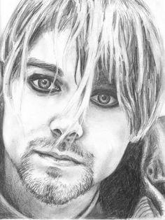 Kurt Cobain by redpoppies on DeviantArt
