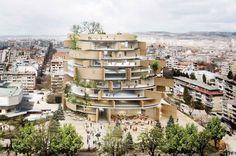 オランダの建築事務所Architects+for+Urbanityが勝利したヴァルナ図書館の国際コンペ。谷尻誠/Suppose+design+officeや日建設計の応募案も公開中
