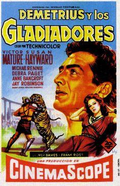 Programa de Cine - Demetrius y los Gladiadores