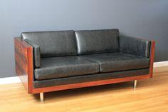 1960s Mid-Century Settee/Sofa | Design: Milo Baughman for Thayer-Coggin | USA