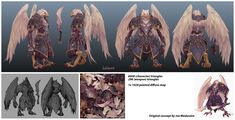 Eagle Guy, modeled after Joe Mad concept - Polycount Forum