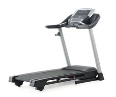"""ProForm Performance 400 Treadmill. 2.5 CHP Mach Z Motor, 20"""" x 55"""" Tread Belt, ProShox Cushioning, Space Saver Design. 1.9"""" Precision Machined and Balanced Non-Flex Rear Roller, Multi-Window LED Display, 10 MPH Quick Speed Control, 10% Quick Incline Control. 18 Workout Apps, Grip Pulse EKG Heart Rate Monitor, CoolAire Workout Fan, 300 Lb. Weight Capacity. Compatible Music Port for iPod, iPod is a trademark of Apple, Inc., registered in the U.S. and other countries; iPod not included. The..."""