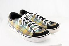 Dollin Vans Off the Wall Classic Canvas Plaids Skateboard Shoes Women's Size 11  #VANS #Skateboarding