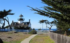 Things to do in Monterey. Shopping, outdoor activities, parks, beaches...Point Pinos Lighthouse, Pacific Grove