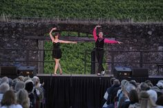 Two On Tap performing in Broadway Under The Stars in Jack London State Park - Melissa Giattino and Ron DeStefano - photo by Ryan Daffurn