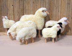 Sheep toys all handmade cool indeed