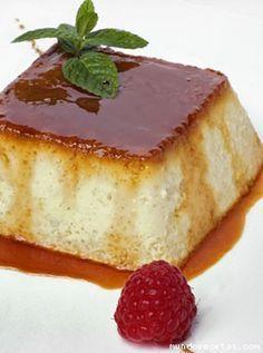 Flan de Manzana. http://www.pinterest.com/susansusu/dulces/