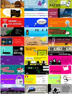 Google's Poster on Cyber Safety. Here is a great poster assembled by Google which you can use in class with students. This post is made from a set of archived images featuring 30 cyber security tips to share with your students.