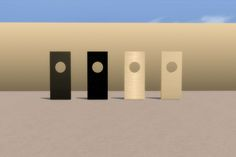 Mod The Sims - Monolith Recolors - Three New Choices in white, steel, and WOW