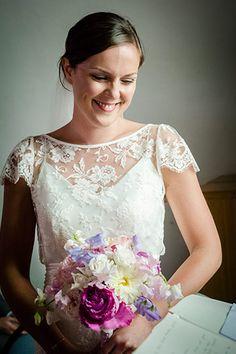 Wedding dress by Halfpenny London