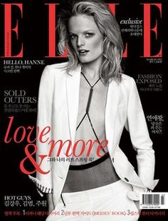 Hanne Gaby Odiele by Hong Jang Hyun for Elle Korea March 2013 http://quizans.com    Plzz like n share this page