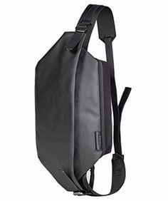 ブラック F JACK PORT(ジャックポート) コートエシエル ISARAU キャンバスボディーバッグ COATED CANVAS Black iPad Air 9.5インチ 収納可 JK720533010001