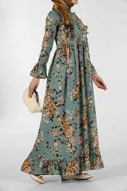 Sik Ve Modern Yazlik Tesettur Elbise Modelleri Elbise Modelleri Elbise Moda Stilleri
