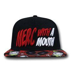 21f39f4caff Deadpool Merc Sublimated Bill Snapback Hat