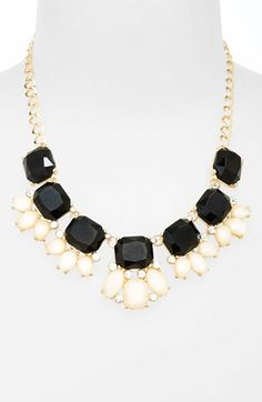 Gorgeous two tone necklace | kate spade