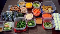 If people asked me to give my number one advice for how to start and maintain a healthy lifestyle, my answer would be MEAL PREP! I am a huge advocate for preparing healthy meals (or parts of meals)...