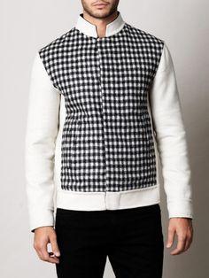 Balenciaga Reversible Wool Jacket in Beige for Men (cream) - Lyst