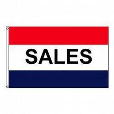 FlagCenter.com - Sales Message Flag, #sales #shop #sign