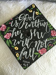 Graduation Cap 2016 Psalm 46:5 More