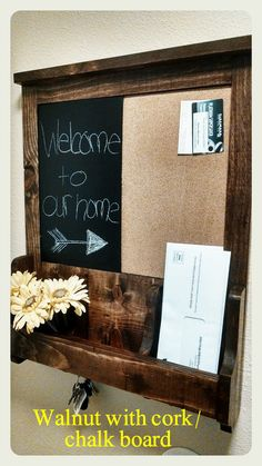 Hey, I found this really awesome Etsy listing at https://www.etsy.com/listing/170338332/entrykitchen-organizer-chalkboard-key