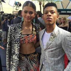 - NEW PHOTOS - Zendaya & Yazz the Greatest (from Empire) at the  2015 Billboard Music Awards in Las Vegas - [HQ] -  May 17th ,2015 - @Zendaya | #Zendaya - #ZendayaUpdate -