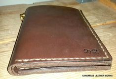 HANDMADE LEATHER WORKS  HANDMADE LEATHER WALLET