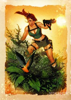 Lara Croft- Tomb Raider - Adam Hughes