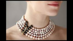 Pearl Choker by Patrice Fabre