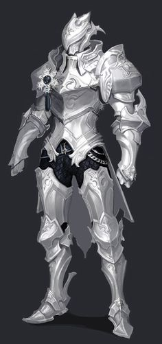 Aion Male Knight Armor