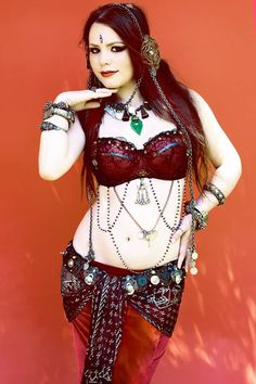 Alexis Southall:Tribal Fusion Bellydance - Classes