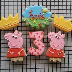 Peppa Pig Crown Birthday