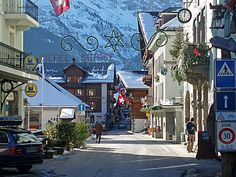 champery switzerland, i lived at the end of this street! Miss it so much