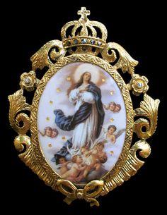 Madalha Senhora do Carmo_Portugal.www.museudaourivesaria.com