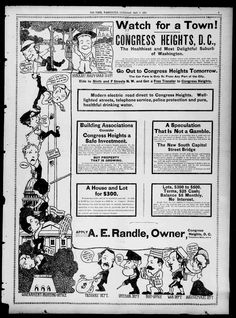 Congress Heights advertisement - May 17th, 1902 (Washington Times)