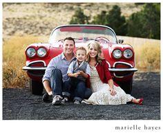Family car photography