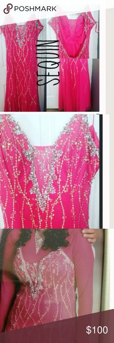 Pink Prom Dress In Great Condition Dresses Prom