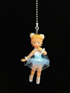 Light And Fan Pulls | Ballerina Girl Light/Ceiling Fan Pull Chain