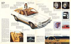 Ford 1974 Pinto Sales Brochure Ford Pinto, Military Jeep, Mclaren Mercedes, Chrysler Jeep, Ford Models, Buick, Volvo, Volkswagen, Chevrolet