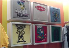 Corrugated Shadowboxes for T-Shirts