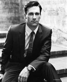John Hamm...another member of the sexy gentlemen squad on mad men