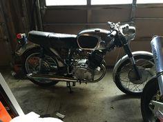 My 1965/1966 Honda cb160!