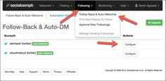 Want to send automatic DM to your new Twitter followers? Here is the best tool which automatically send direct message to new followers on Twitter.