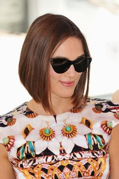 Keira Knightley Fantastic Bob. I want to cut my hair like this right after the wedding :)