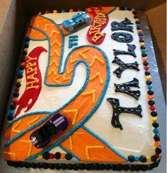 Macy Cakes: Hot Wheels Cake