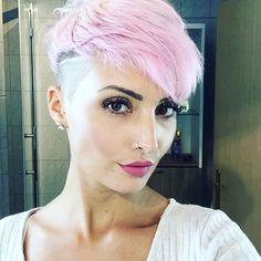 New Haircut ✂️ #hair #haircut #hairstyle #haircolor #pixie #pixies #pixiecut #undercut #sidecut #shorthair #buzzcut #pinkhair #pinklove #love #amazing #happy #happyness #hairdresser #beauty #beautiful #video #videooftheday #stuttgart #0711