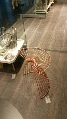 Copper wire stool